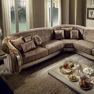arredoclassic liberty salotto set divano angolare