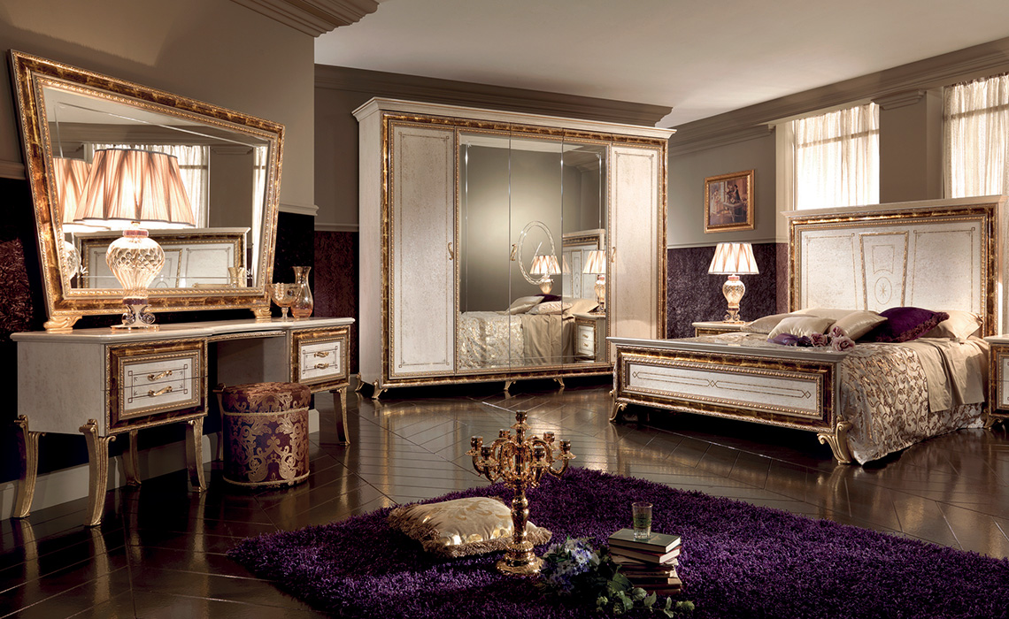 arredoclassic raffaello bedroom complete b arredoclassic. Black Bedroom Furniture Sets. Home Design Ideas