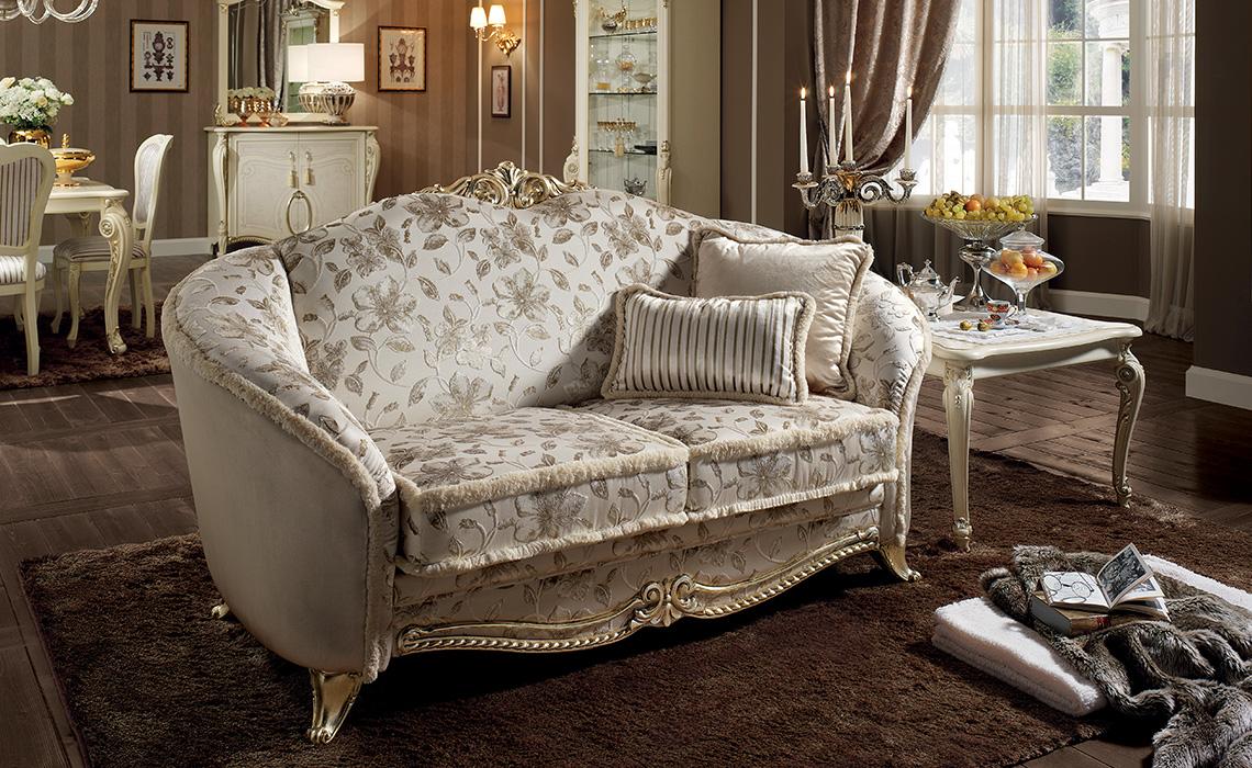arredoclassic tiziano salotto divano due posti