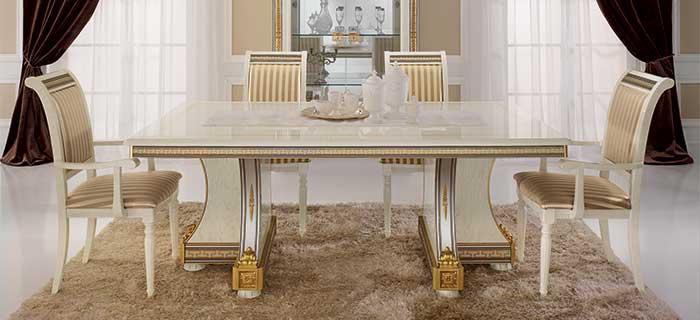 arredoclassic liberty soggiorno tavolo sedie completo