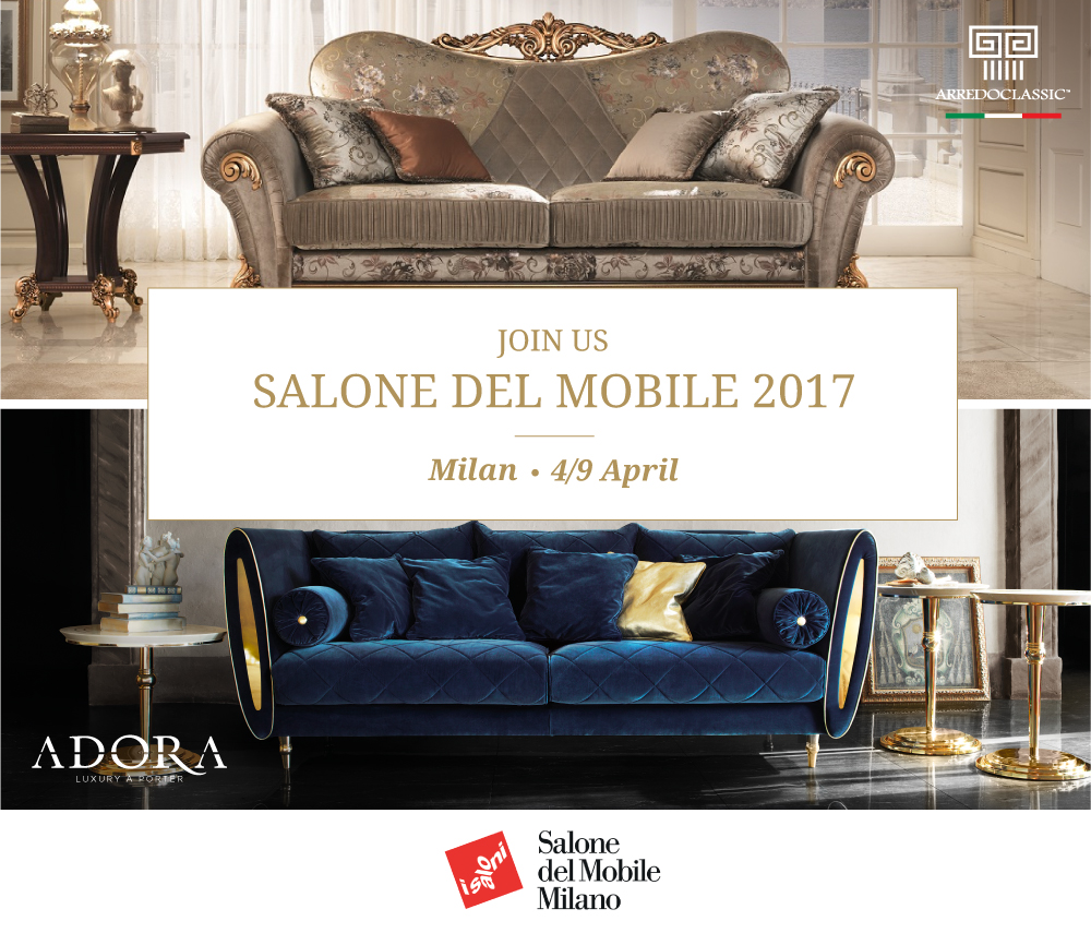 Arredoclassic at salone del mobile 2017 for Fiera mobile 2017